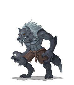 """Werewolf"" Artist Alekzander Zagorulko. Mythical Creatures, Werewolf, Great Britain, Character Art, Lion Sculpture, Statue, Pure Products, Artwork, Artist"