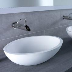 JEE-O | Waschschale Moloko | 58x40cm | DADOquartz | Design: Lammert Moerman