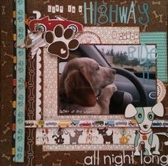 tail waggers and cat naps - bella blvd - Two Peas in a Bucket Dog Scrapbook Layouts, Album Scrapbook, Scrapbook Paper Crafts, Picture Layouts, Happy Animals, Cat Naps, Making Ideas, Digital Scrapbooking, Mini