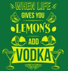 Lemons & Vodka – 6Dollar Shirts « Daily T-Shirts