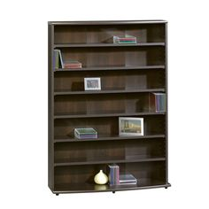 Multimedia Wall Storage Tower CD DVD Rack Shelf Organizer Bookcase Holder Stand…