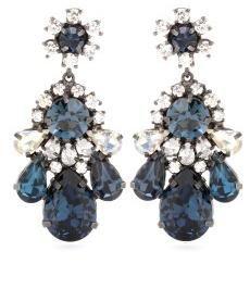 Montana crystal-embellished earrings
