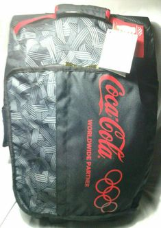 """Coca Cola Wheels/Rolling,Carry On- Olympic Partner Logo Travel Bag 22"""" #PCFGlobalforCocaCola #TravelBag #Travel"""
