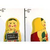 "emma at home by Emma Gardner""Matryoshka Mug Shot Giclee Print Art $685"