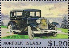 Norfolk Island 1995 Vintage Motor Vehicles Fine Mint SG 586 Scott 572 Other Norfolk Island Stamps HERE
