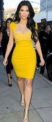 Pretty Today – Kim in Yellow Dress – Pretty Today – Pretty Things To Look At Today Kim Kadashian, Yellow Dress, Red Carpet, That Look, Bodycon Dress, Pretty, Mesh, Dresses, Women