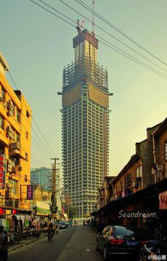 SHANGHAI | White Magnolia Plaza | 319m | 1046ft | 66 fl | 171m | 561ft | 39 fl | 111m | 364ft | 23 fl | U/C - Page 34 - SkyscraperCity