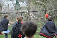 Quidditch for Harry Potter Party