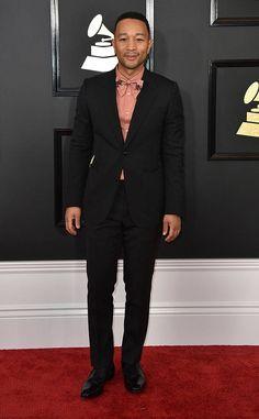 John Legend from Grammys 2017 Red Carpet Arrivals