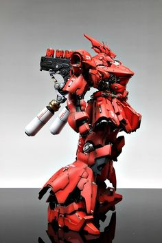 [GMG] 1/100 MSN-04 Sazabi: Painted Build. Full Photoreview No.14 Big Size Images. Latest Work by Suny Buny | GUNJAP