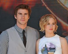 Liam Hemsworth Explains What It Was Like to Kiss Jennifer Lawrence @tdawnb
