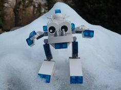 LEGO MIXELS SNOW MIXELS MOC - YouTube