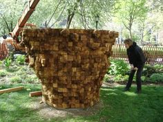 Four major sculptures by internationally known artist Ursula von Rydingsvard are on exhibition at Mad. Wood Sculpture, Sculptures, Day Trips From Boston, Walden Pond, Madison Square, Wood Art, My Arts, Artists, Park