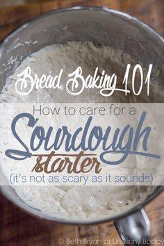 This is just not any bread, but the best bread! Stop by and learn how to care for a Sourdough Bread Starter   eBay