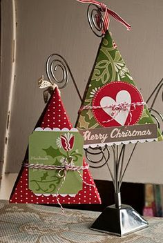 paper & cookies: Triangle Boxes Tutorial