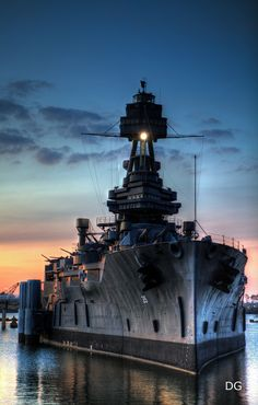 Battleship USS Texas BB-35, the last survivor of the Dreadnought Era (although not the last dreadnought). The ship is a century old and badly in need of funding for restoration and dry-berthing. The ship's structural integrity is becoming a critical concern.