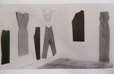 archive-club:  Judith Shea, Studio view 1979-1980