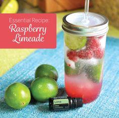 doTERRA Raspberry Limeade Recipe