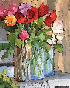 MARTHA LEVER - Work Zoom: Chunky Flowers