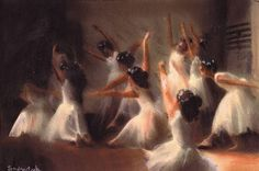 balett pastellprint from my artfork