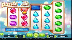 Hracie automaty Dazzle Me - Hracie automaty Dazzle Me je hra, ktorá predstavuje 5 charakteristických valcov a 76 stávkových výherných radov so skvelou farebnou a žiariacou grafikou. #HracieAutomaty #VyherneAutomaty #AutomatoveHry #Jackpot #Vyhra #DazzleMe