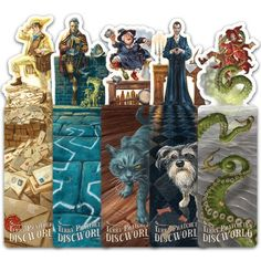 Discworld Ookmarks Set Two from Discworld Emporium