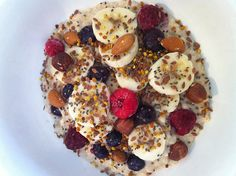 Healthy Breakfast: Nut-Berry Breakfast Quinoa