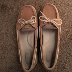 9854799e0c Tan Sperrys Great condition only worn a few times. No damage at all. Sperry  Top Sider ShoesSperry ...
