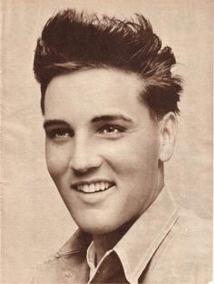 a very young and gorgeous elvis