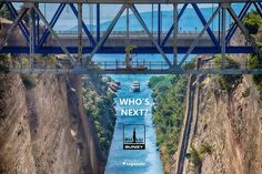 Who's next? #comingsoon #WeLoveGreece #Greece 🇬🇷 #yolo #zulubungy #StudioLagopatis #lifestyle #summeringreece #greeksummer #amazingview #amazing #thatview #breathtaking #Corinth #canal #instagood #adrenaline #bridge #view #garmingreece #extreme #happyday #beatifulgreece #crazy #limited #nolimits #nature #travel #landscape #summer www.lagopatis.gr