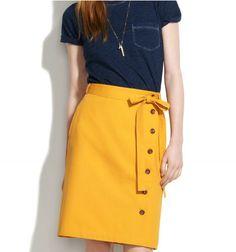madewell novella skirt