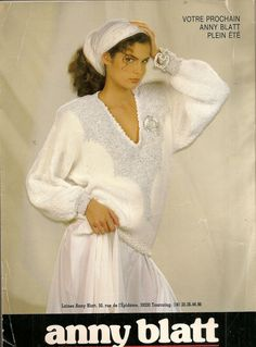 MAGAZINE ANNY BLATT N°96 tricot printemps été : Autres Tricot et Crochet par…