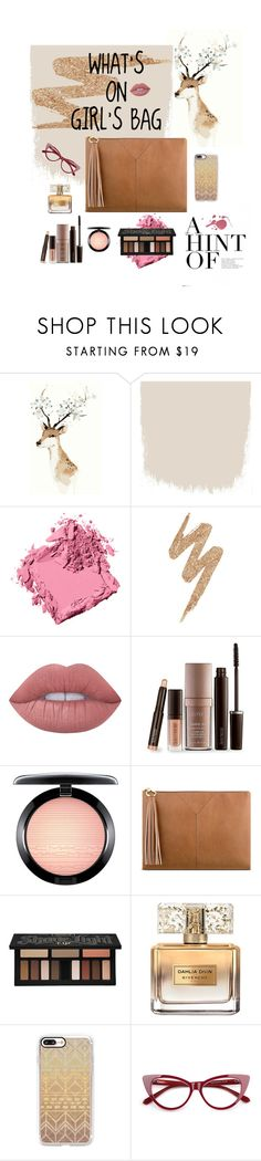 """""""What's on Girl's Bags be like~ Beauty stuffs for girls is a must💋  #beautystuff #whatsongirlsbag #hijab #bag"""" by yunizhr ❤ liked on Polyvore featuring beauty, Bobbi Brown Cosmetics, Urban Decay, Lime Crime, Laura Mercier, MAC Cosmetics, Nine West, Kat Von D, Givenchy and Casetify"""
