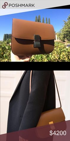 Authentic Classic Box Caramel Large Brand New, 100% authentic from Celine. Rare color, very classic! ^^ Message me if you are interested. Celine Bags Shoulder Bags