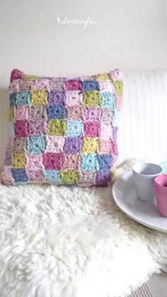 häkeln, crocheting, crochet, crochetpillow, pillow, Häkelkissen, Handarbeiten, crocheter, crochetaddict, Anleitung, Häkelidee, Häkelanleitung, Häkeltutorial, DIY, crochet tutorial, crochet DIY, Landleben, handmade, crafting, Drops, Eskimo - Garn, Schurwolle, handcrafted
