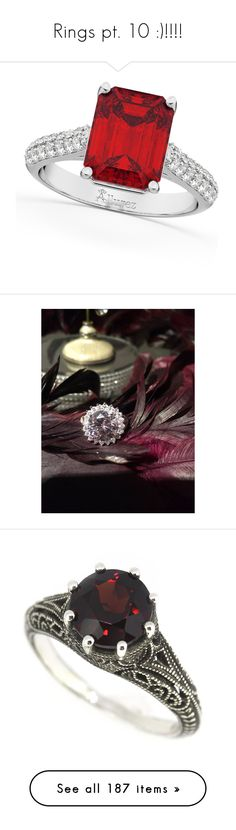 """""""Rings pt. 10 :)!!!!"""" by nerdbucket ❤ liked on Polyvore featuring jewelry, rings, white gold engagement rings, engagement rings, diamond band ring, anniversary rings, diamond engagement rings, pictures, filigree ring and sterling silver filigree jewelry"""
