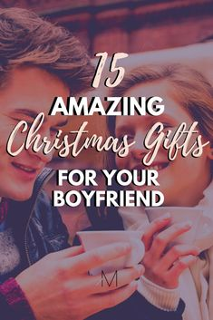 15 Amazing Gift Ideas for Best Friend / Boyfriend Is your boyfriend also your best friend? If so then you'll want to make sure you check out these gift ideas for best friends to surprise him this holiday season! Thoughtful Christmas Gifts, Christmas Gifts For Boyfriend, Best Christmas Gifts, College Boyfriend Gifts, Christmas Presents, Bf Gifts, Easy Gifts, Unique Gifts For Men, Gifts For Women