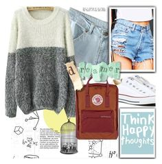 """""""♥"""" by syoungju ❤ liked on Polyvore featuring York Wallcoverings, Xirl, Cosimo Vardaro, Converse and Fjällräven"""