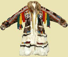 Ненецкая женская зимняя одежда в собрании Ненецкого краеведческого музея