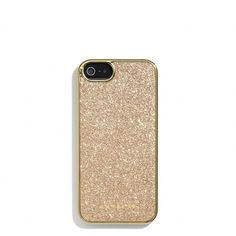 Coach Glitter Inlay Iphone 5 Case ($29) ❤ liked on Polyvore featuring accessories, tech accessories, phone cases, phones, cases, iphone and coach tech accessories