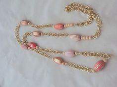 Collane lunghe - Collana rose-gold - un prodotto unico di SpinzMade su DaWanda