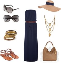 """beach outfit 1"" by tammytummy on Polyvore"