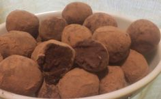 Treat yourself with these Dark Chocolate Red Wine Truffles. You deserve it.