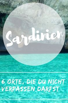 6 Orte, die Du auf Sardinien nicht verpassen darfst Sardinia offers you a great variety of possibilities to design your trip. You will find beautiful beaches next to great cliffs and … Europe Destinations, Places In Europe, Places To See, Koh Lanta Thailand, Sardinia Italy, Backpacking Europe, Beach Trip, Time Travel, Travel 2017