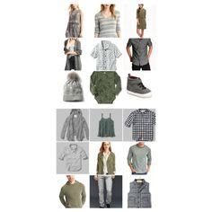 Grey, army green, white