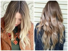 blonde balyage hair | Natural looking blonde balayage hair color