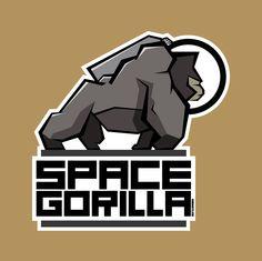 Behance Network :: Space Gorilla logo