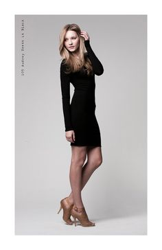 Classic black dress! A must have
