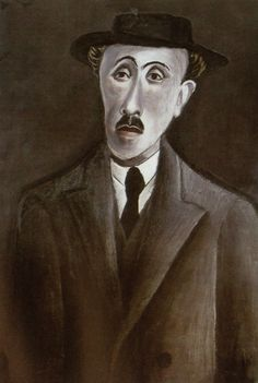 Otto Dix, Bildnis des Dichters Alfred Günther (Portrait of the Poet Alfred Günther), 1919