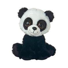 Mei Li The Plush Panda Dreamy Eyes Stuffed Animal By Aurora at Stuffed... ($12) ❤ liked on Polyvore featuring stuffed animals, panda and toy